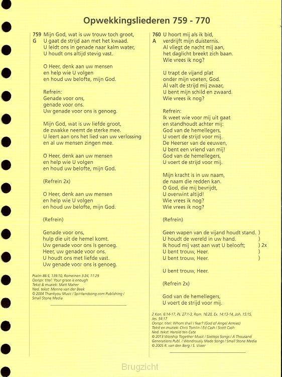 Opwekking tekstaanv 38 (759-770) geperf