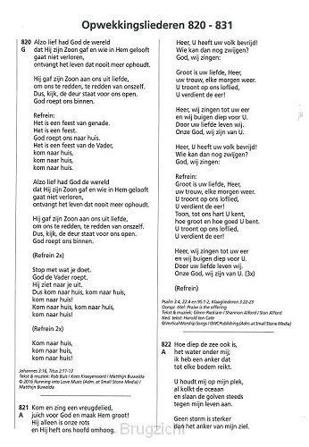 Opwekking tekst aanv 43 (820-831)