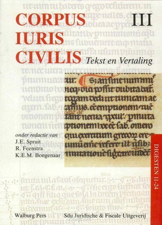 Corpus Iuris Civilis / III Digesten 11-24