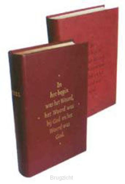 Bijbel nbv 23x26 cm.Kanselbijbel