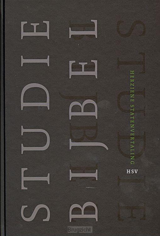 Bijbel HSV Studiebijbel hardcover