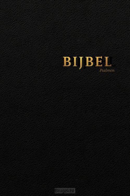 Bijbel HSV met Psalmen vivella zwart