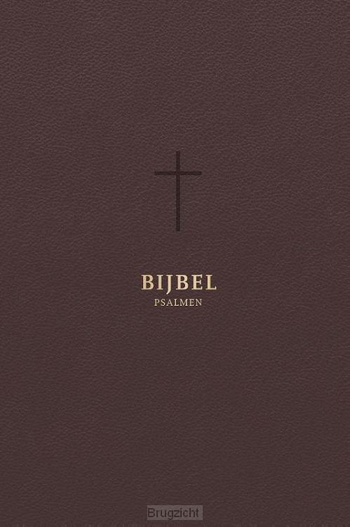 Bijbel HSV met psalmen goudsnee koker