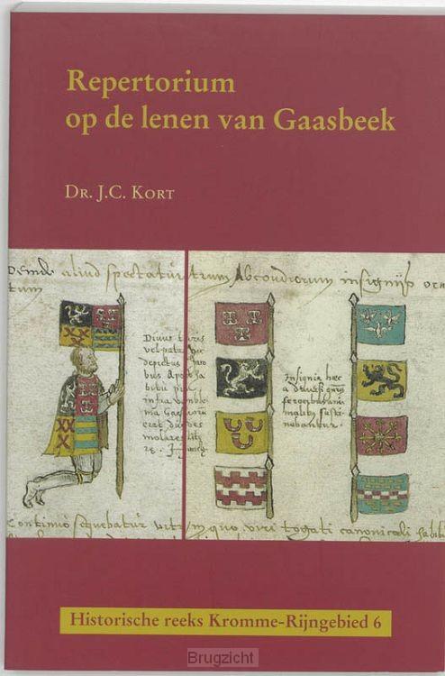 Repertorium op de lenen van Gaasbeek