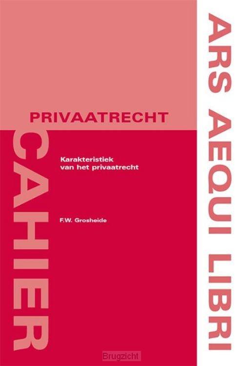Karakteristiek van het privaatrecht