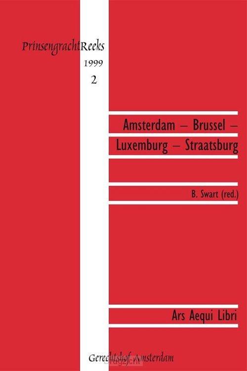 Amsterdam- Brussel-Luxemburg-Straatsburg