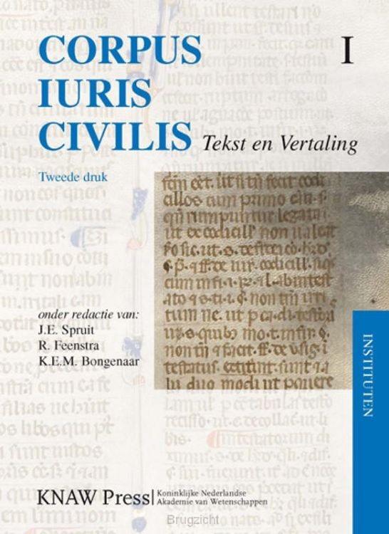 Corpus Iuris Civilis / 1 Instituten