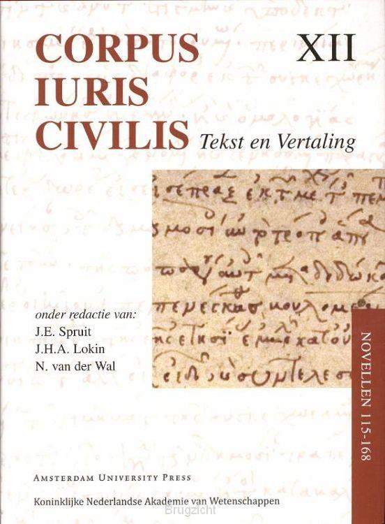 Corpus Iuris Civilis / Novellen 115-168