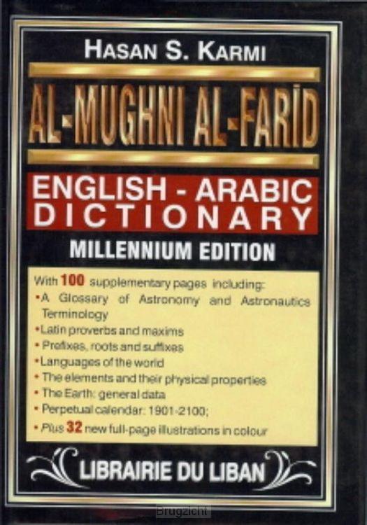 Engels Arabisch woordenboek groot