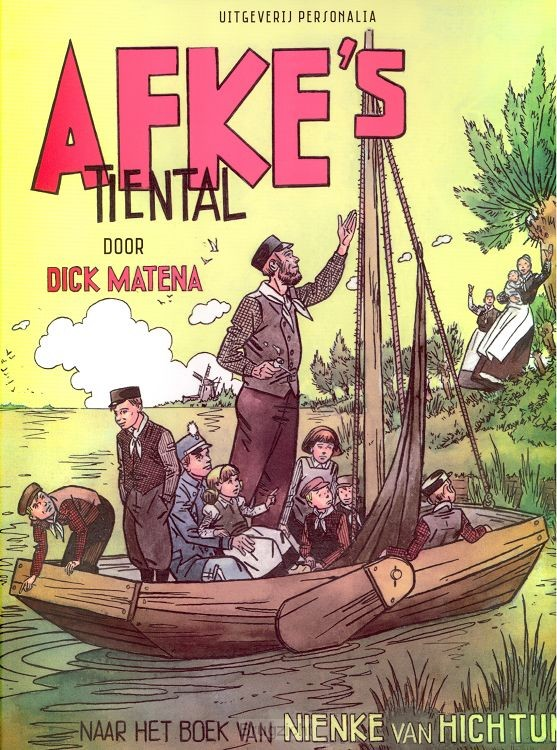Afke's tiental stripboek