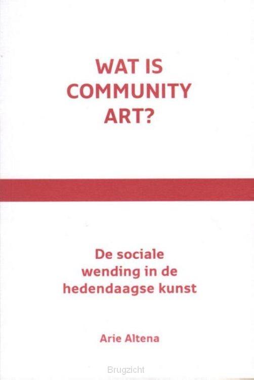 Wat is community art?