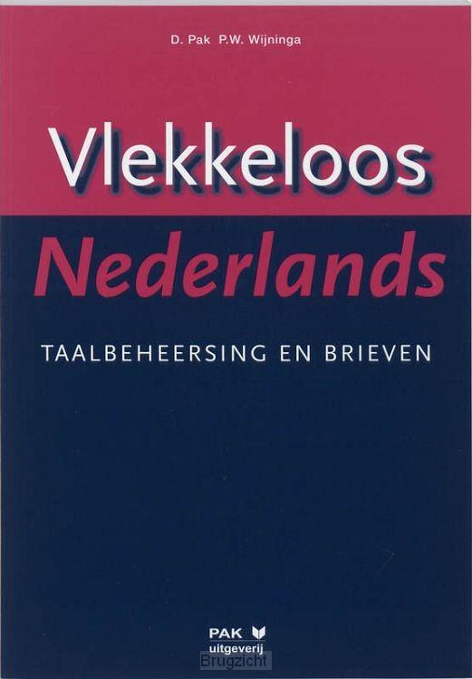 Vlekkeloos Nederlands / Taalbeheersing en brieven taalniveau 3F en 4F