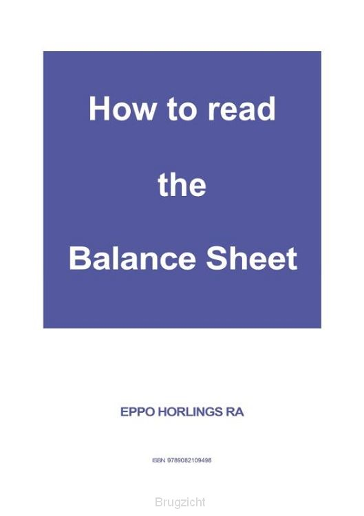 How to read the Balance Sheet