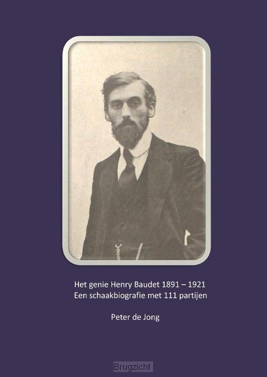 Het genie Henry Baudet 1891-1921