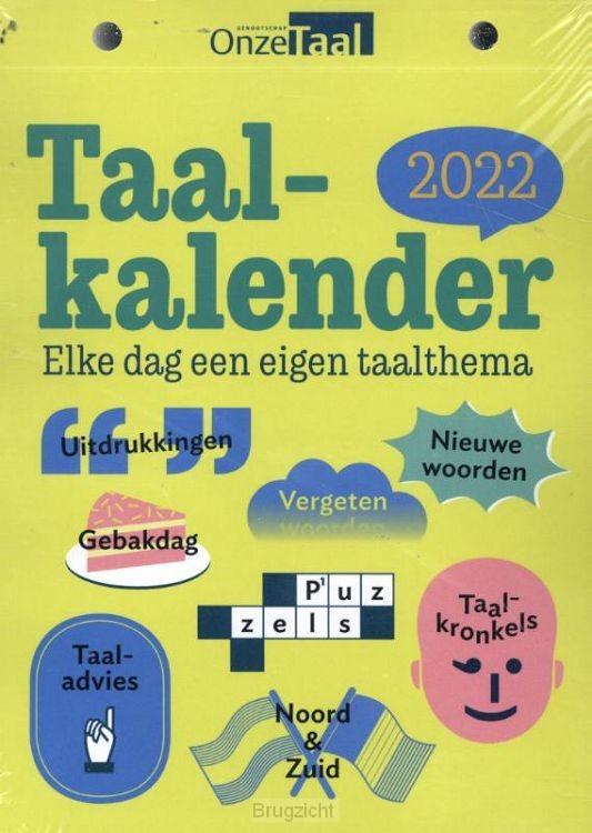 Onze Taal Taalkalender 2022