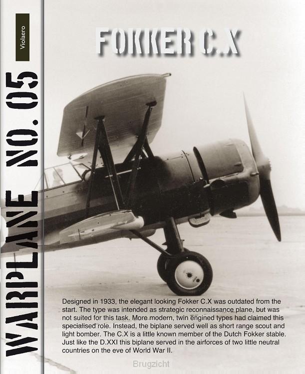 5 / Warplane 05 / Fokker C.X
