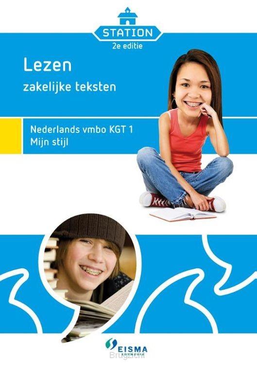Station / Lezen, zakelijke teksten Nederlands vmbo KGT 1 mijn stijl