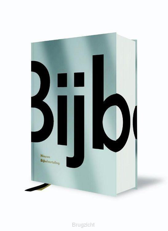 Bijbel NBV huiseditie zilver metallic