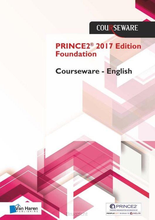PRINCE2® Edition 2017 Foundation Courseware - English