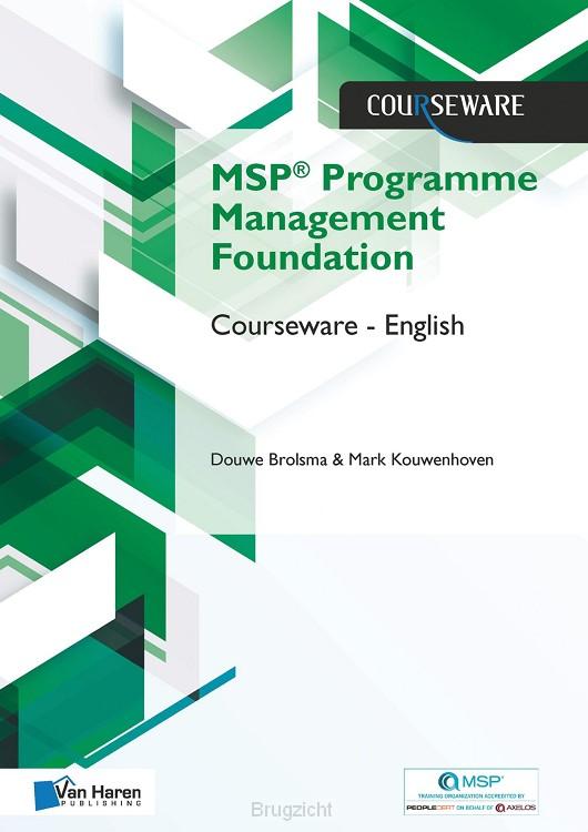 MSP® Foundation Programme Management Courseware - English