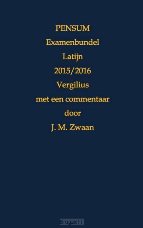 Pensum examenbundel Latijn / 2015/2016 Vergilius