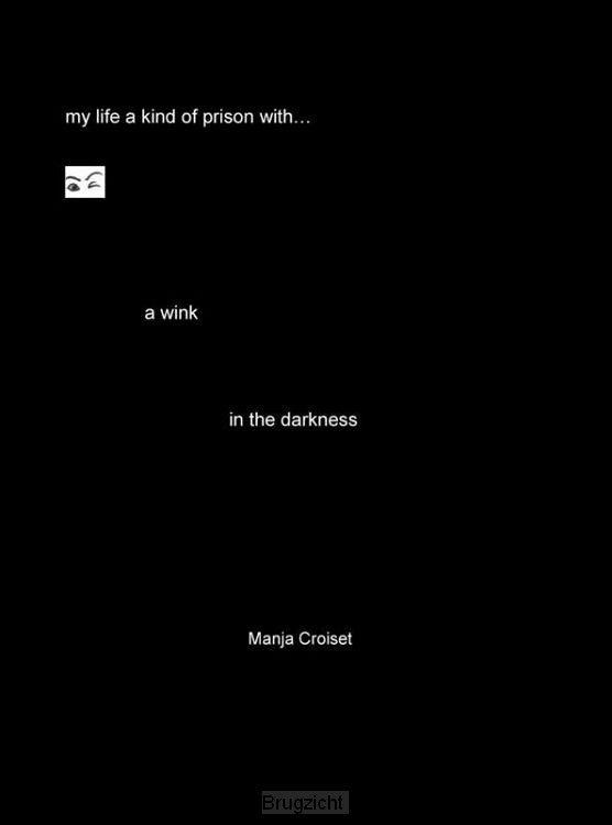 A wink in the darkness