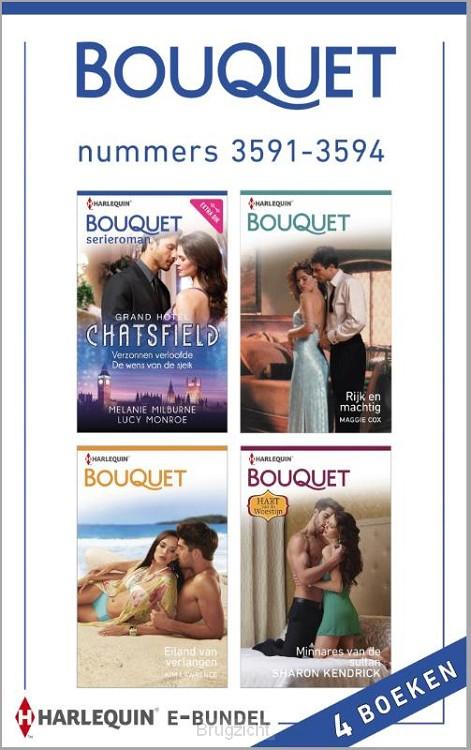 Bouquet e-bundel nummers 3591-3594 (4-in-1)