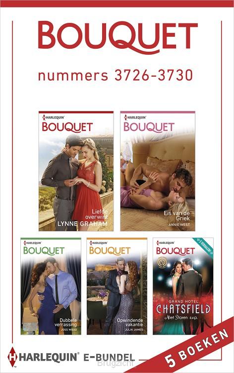 Bouquet e-bundel nummers 3726-3730 (5-in-1)