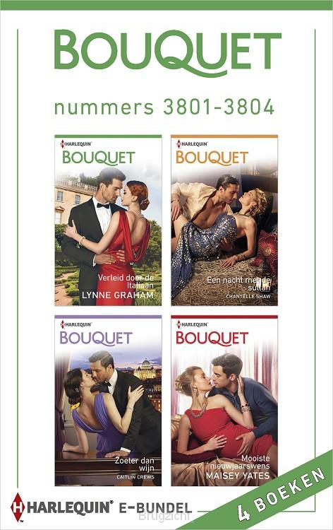 Bouquet e-bundel nummers 3801-3804 (4-in-1)