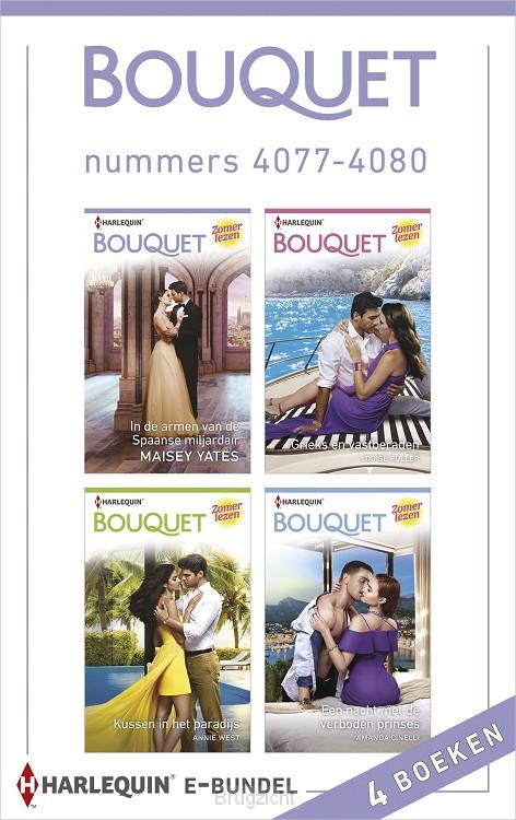 Bouquet e-bundel nummers 4077 - 4080