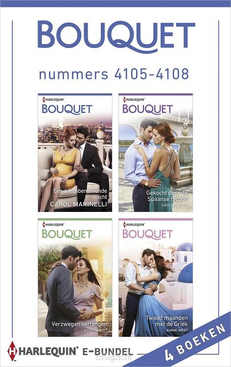 Bouquet e-bundel nummers 4105 - 4108