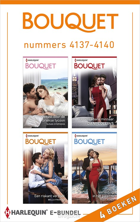 Bouquet e-bundel nummers 4137 - 4140
