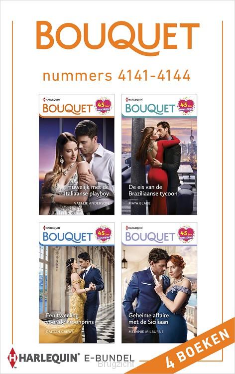 Bouquet e-bundel nummers 4141 - 4144