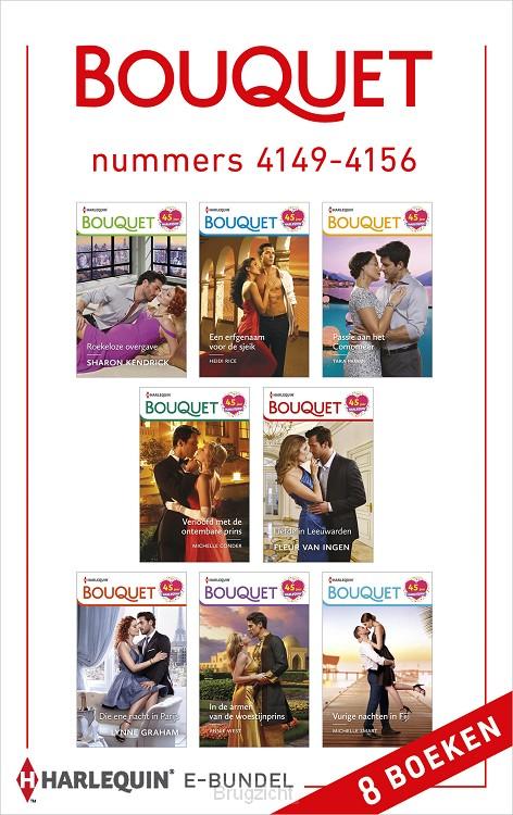 Bouquet e-bundel nummers 4149 - 4156