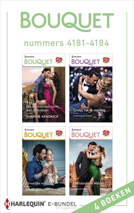 Bouquet e-bundel nummers 4181 - 4184