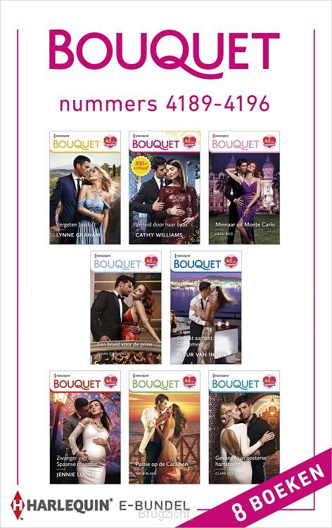 Bouquet e-bundel nummers 4189 - 4196