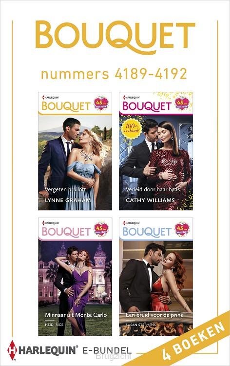 Bouquet e-bundel nummers 4189 - 4192