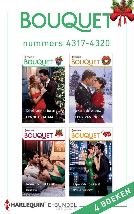 Bouquet e-bundel nummers 4317 - 4320