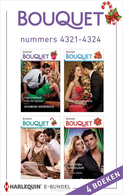 Bouquet e-bundel nummers 4321 - 4324