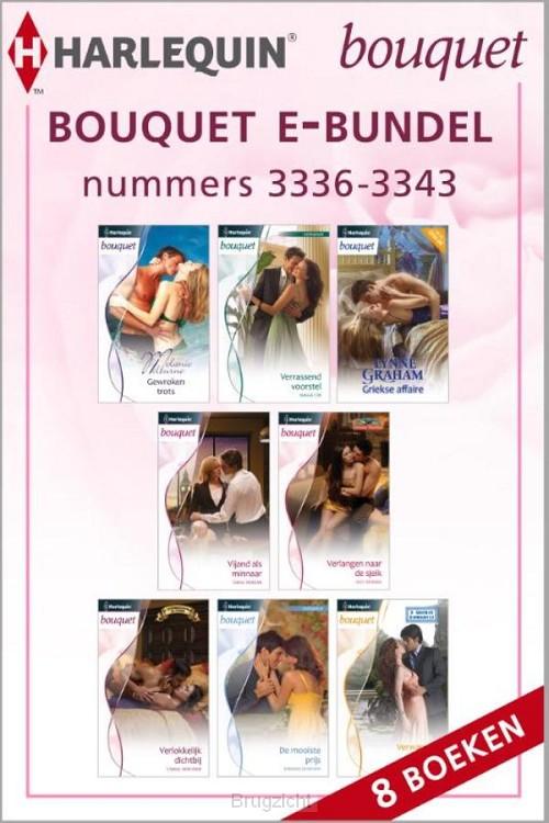 Bouquet e-bundel nummers 3336 - 3343 (8-in-1)