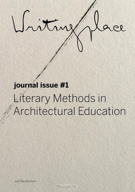 Writingplace Journal for Architecture and Literature 1
