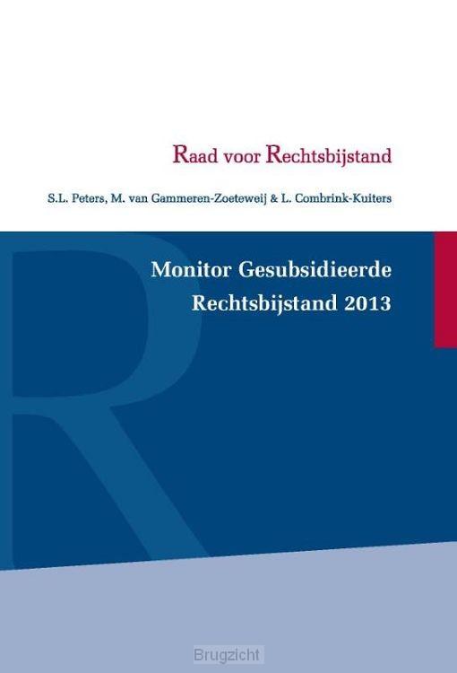 Monitor gesubsidieerde rechtsbijstand / 2013