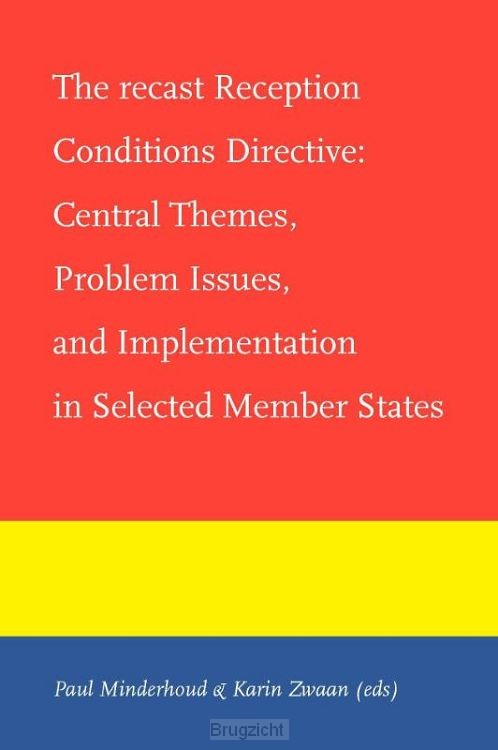 The recast reception conditions directive