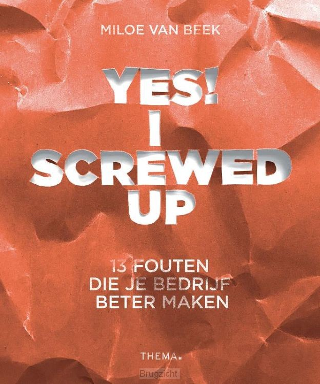 Yes! I screwed up