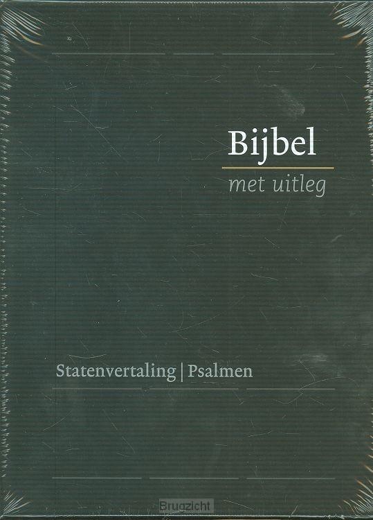 Bijbel bmu KLEIN zwart in cassette