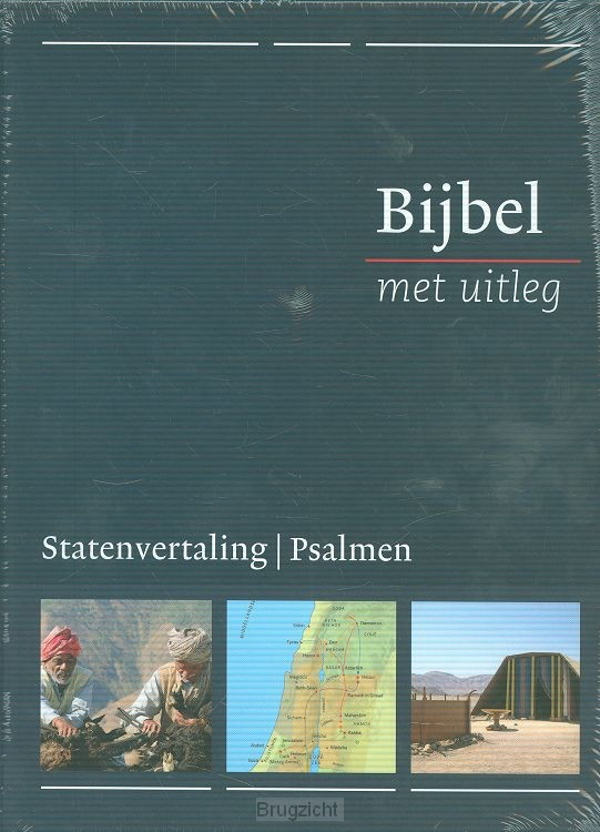 Bijbel bmu MIDDEL blauw in casette