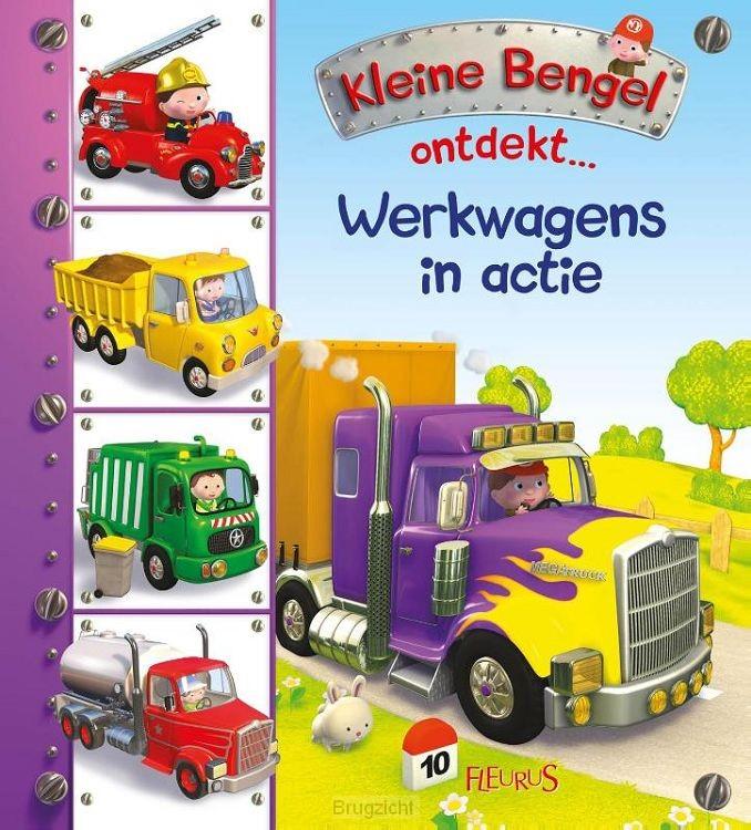 Werkwagens in actie