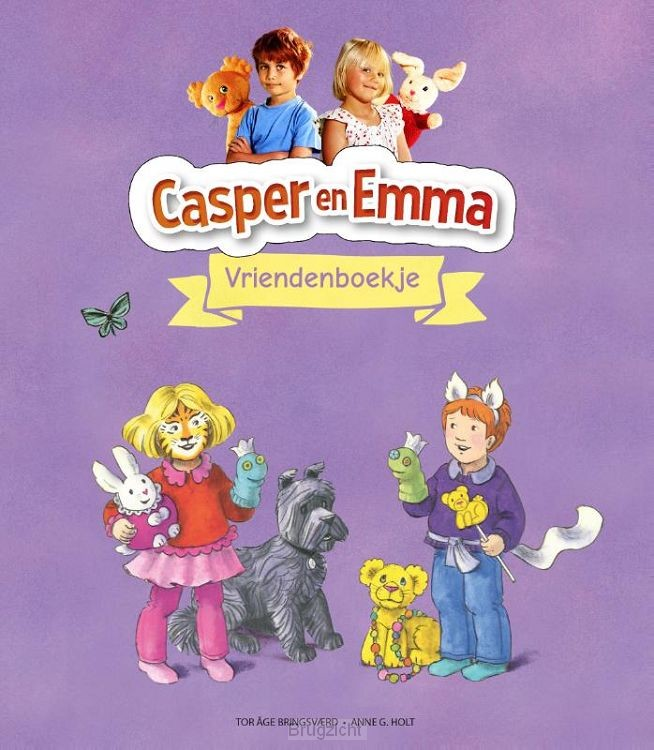 Casper & Emma Vriendenboekje