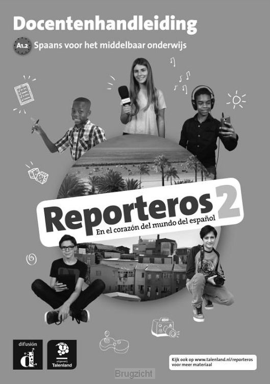 Reporteros / 2 Libro del profesor