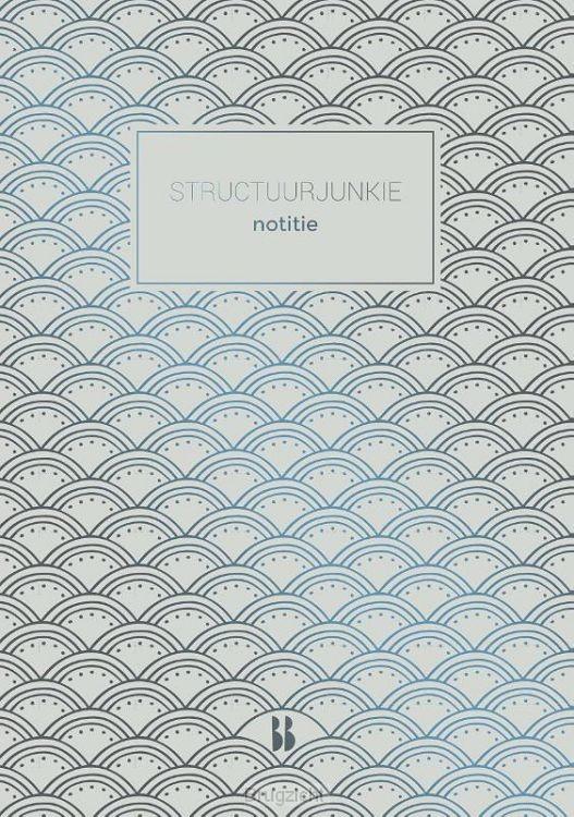 Structuurjunkie notitieboek (grijs)